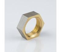 Контргайка латунь никель Ду15 ВР 9020 (1500/150) Aquasfera 9020-01