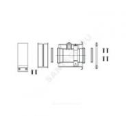 Адаптер дымохода Ду60/100 с ревизионным отверстием Protherm 3002186614