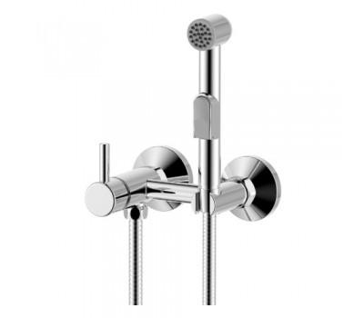 Смеситель для ванны  одноручный с гигиеническим душем хром ROSSINKA X25-52