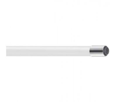 Излив для смесителя  гибкий силикон белый Frap W03