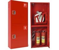Шкаф пожарн ШПК 320 НЗК 200 мм навесной закрытый красный  евро ручка