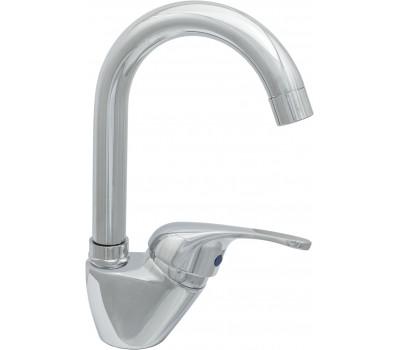 Смеситель для кухни Стройка 27/2 одноручный М42 Д35 высокий излив шпилька L=170мм Подольск СТ300202