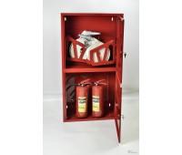 Шкаф пожарн ШПК 320 12 НЗК 300 мм навесной закрытый красный
