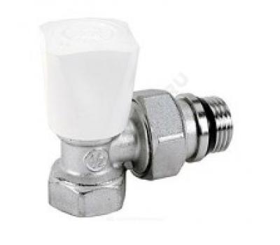 Клапан терморегулирующий R705A для радиатора Ду15 угл ручной ВР/НР (100/10) Giacomini R705X013