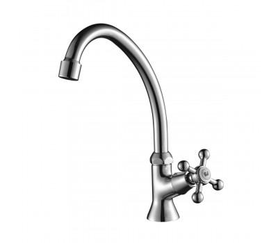 Кран для холодной воды  хром Decoroom DR49010