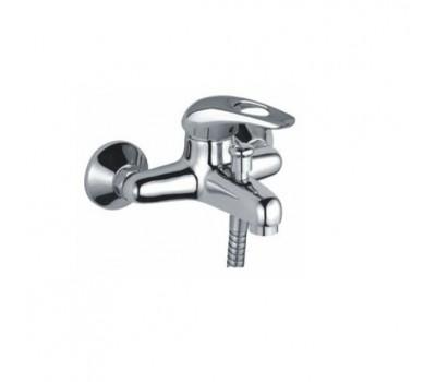 Смеситель для ванны  одноручный короткий излив силумин хром Frap F3002-B