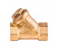 Фильтр сетчатый под магнитную вставку латунь R74A Ду15 Ру16 ВР/ВР (50/5) Giacomini R74AY103
