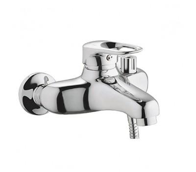 Смеситель для ванны  одноручный короткий излив латунь хром Haiba HB3204
