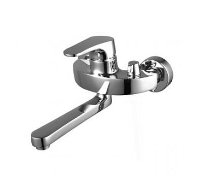 Смеситель для ванны Shift поворотный излив эко-картридж Sedal 40 мм LeMark LM4314C