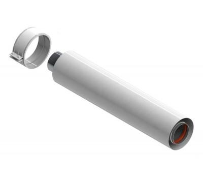 Удлинитель горизонт  Ду60/100 L=2,0м для котлов Рысь, Ягуар для газоотвода Protherm 3003201477