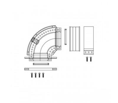 Уголок алюминий 60/100 с ревизионным отверстием для котлов Рысь,Ягуар Protherm 3003202780