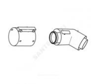 Колено 80/125 стальной соединительный хомут в комплекте Protherm 0020257024