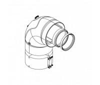 Отвод коаксиальн  алюминий 60/100 90° Protherm 0020199405