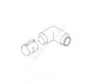 Отвод коаксиальн алюминий 80/125 87° Protherm 0020199414