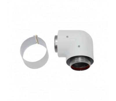 Колено 80/125 стальной соединительный хомут в комплекте Protherm 0020257023