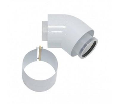 Отвод коаксиальн алюминий 80/125 45° Protherm 0020199416