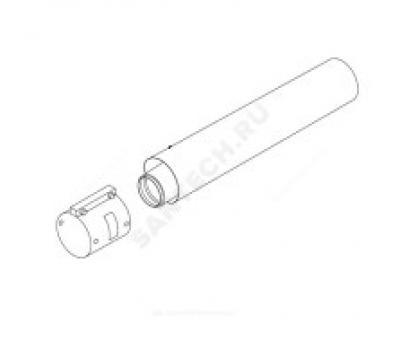 Удлинитель  60/100 L=2,0м стальной соединительный хомут в комплекте Protherm 0020257445