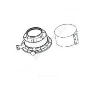 Адаптер верт 80/125 для дымохода Protherm 0020276091/0020109181