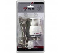 Комплект термостатическ  Ду15 угл TIM RVKS207.02