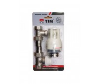 Комплект термостатическ  Ду15 прям TIM RVKD208.02