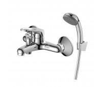 Смеситель для ванны  одноручный короткий излив Decoroom DR21035