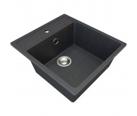 Мойка  искуственный камень Granite-16  черный GAMMA GRANITE 773-10716
