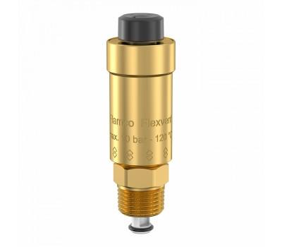 Воздухоотводчик Flexvent латунь Ду15 НР с откл. клапаном Ру10 120C АДЛ HW02A510936/89000