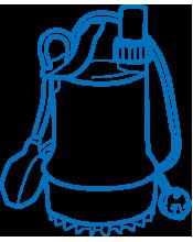 Насосы, насосные и бытовые канализационные установки