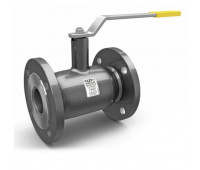 Кран шаровой сталь вода КШЦФ Ду100/80 Ру25 фл стандартный проход LD 11111009252MULD000000000